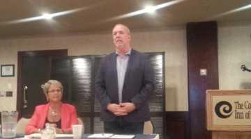 NDP health critic Judy Darcy & leader John Horgan