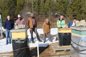 Baldy Hughes residents participate in the facility's beekeeping program (Baldy Hughes)