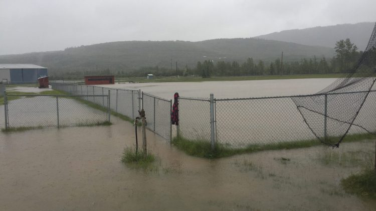 Heavy Rain Causes Flooding Closes Highways In The Peace My Prince George Now