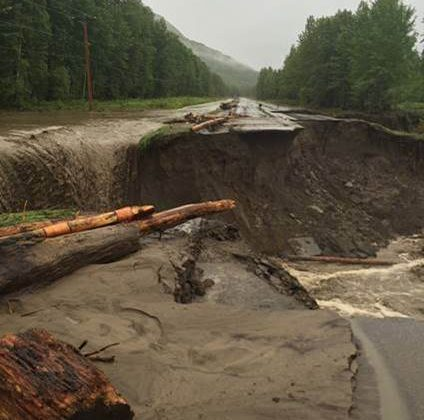 Bc Peace Region Drying Out After Flooding Pine Pass To Remain Closed For A Number Of Days