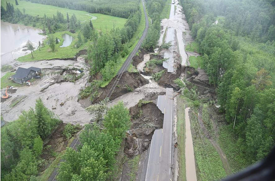 Bc Peace Region Flooding In Photos Video My Prince