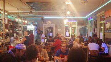The Black Donkey Cafe at 10:30pm on Thursday, July 21
