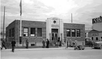 Old Post Office, 1939. Photo taken from the city's website. (Photo: The Exploration Place)