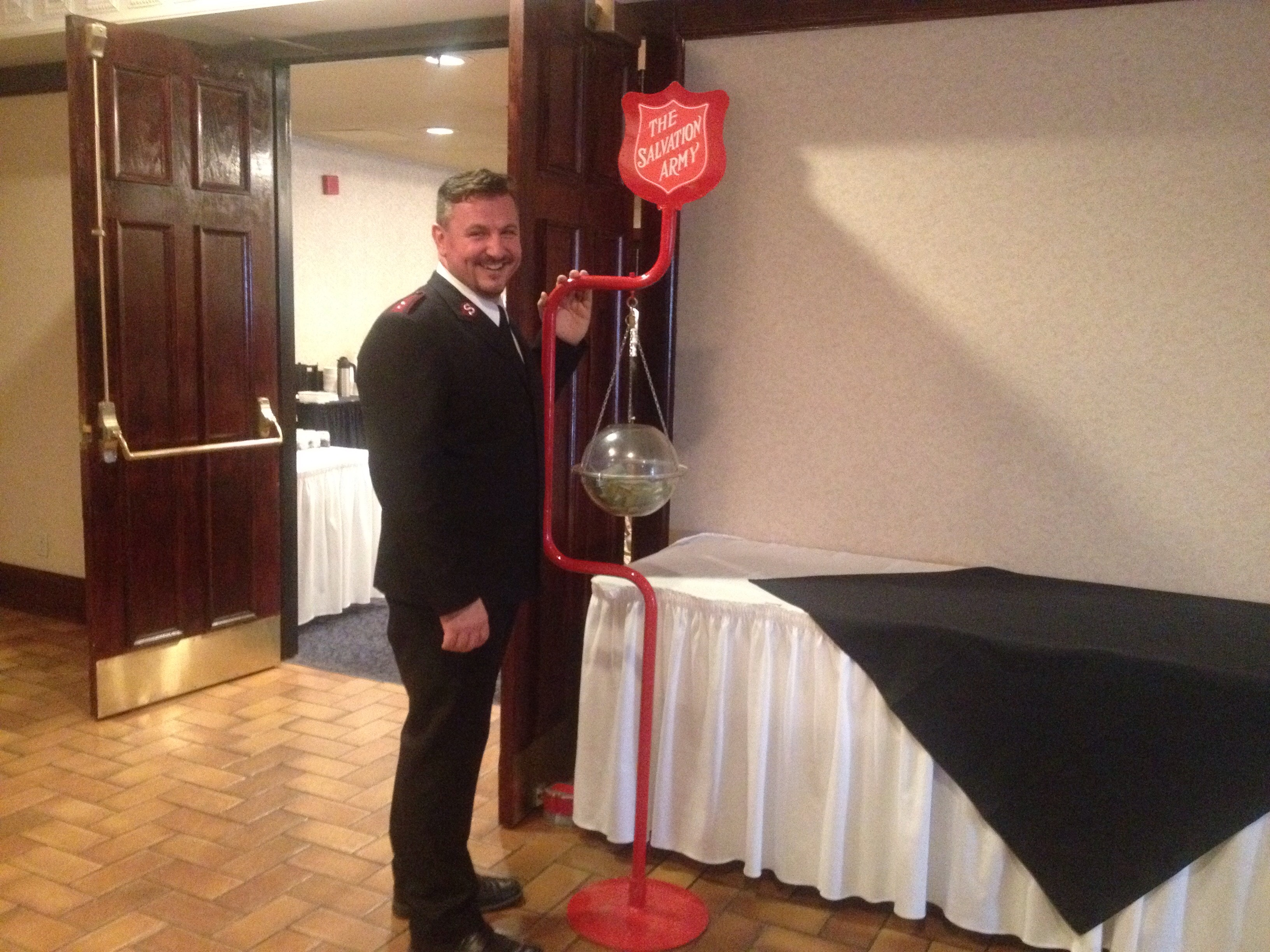 Salvation Army Red Kettle season nearly  here