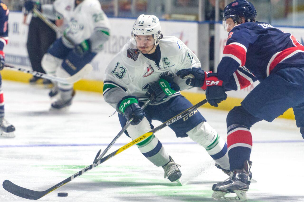 WHL: Kolesar leads Thunderbirds past Pats 6-1