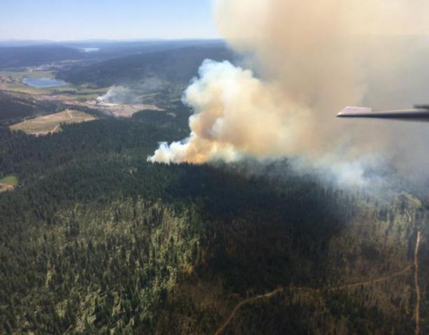 Evacuations Ordered As Cariboo Wildfire Approaches