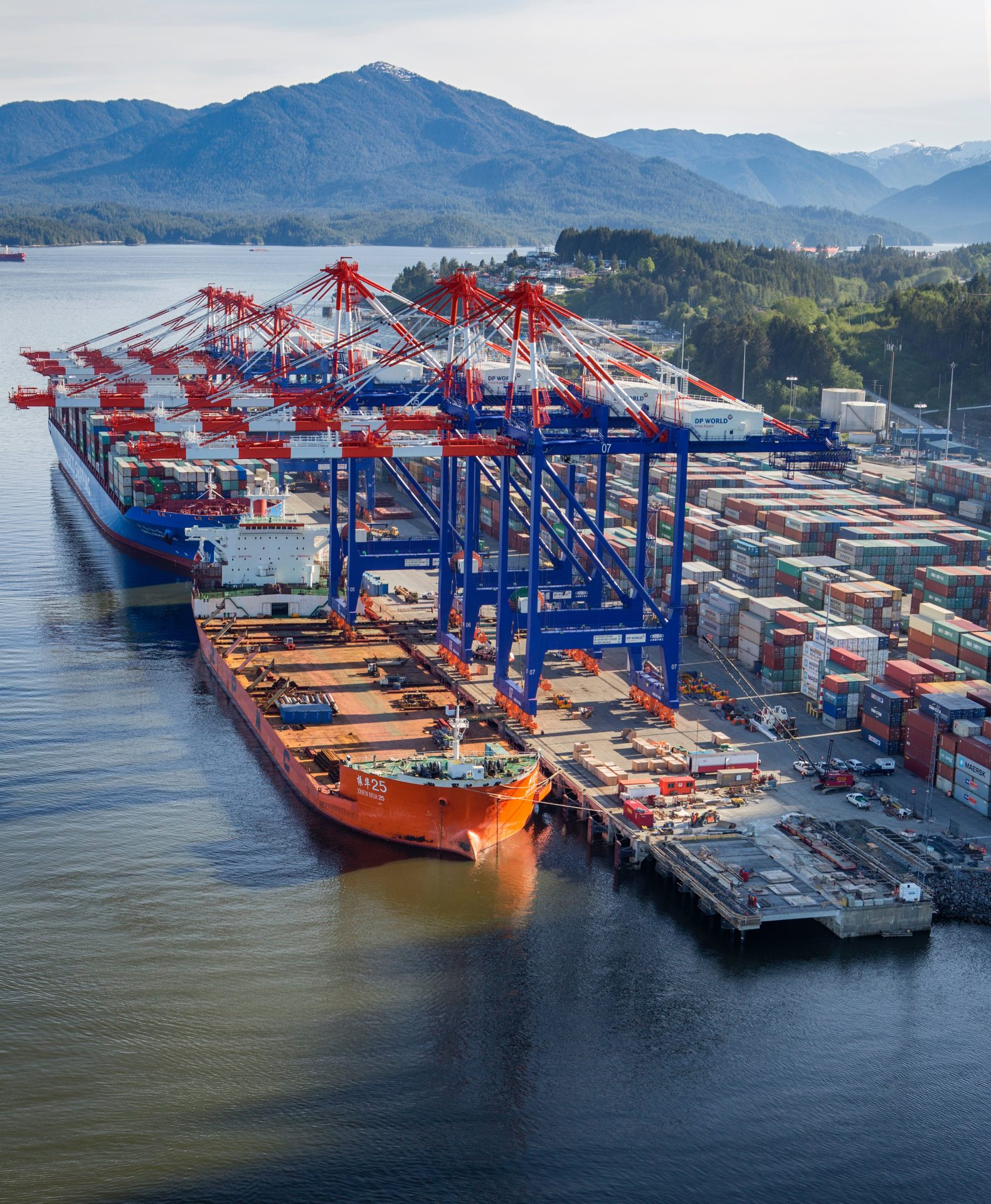 DP World completes Prince Rupert container terminal 2 north expansion
