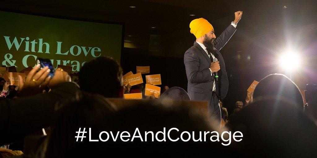 Jagmeet Singh wins NDP leadership vote