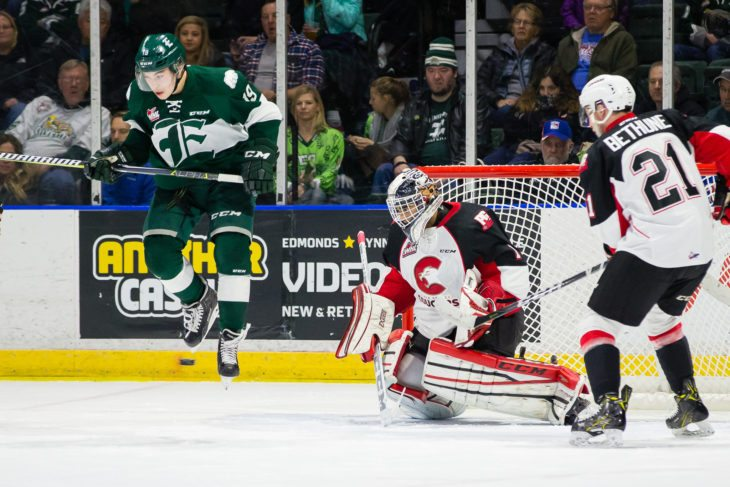 WHL: A Frustrated Matvichuk Sounds Off After Cougars 4-0 Loss