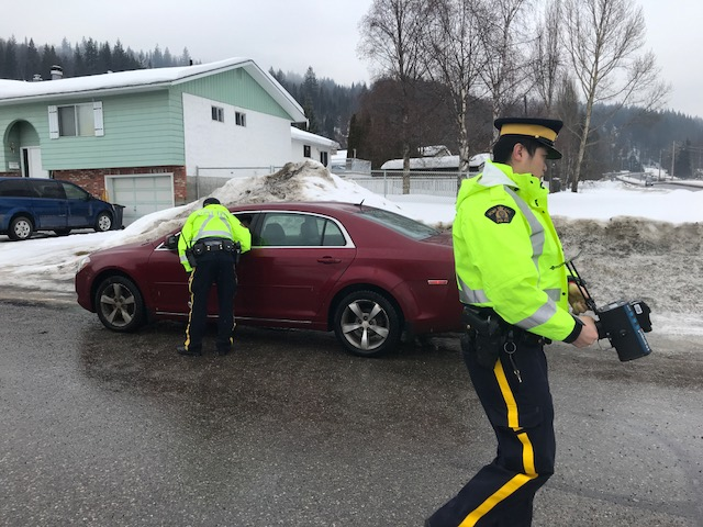 PG RCMP continue attempts to crack down on distracted