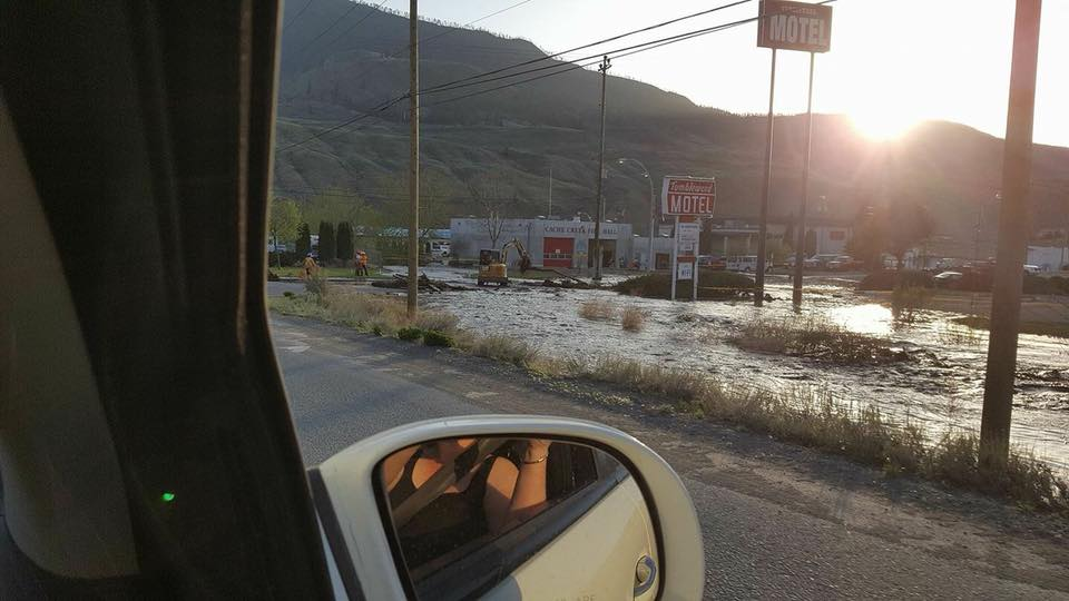 Rising waters in BC Central Interior lead to flood watch, road closures