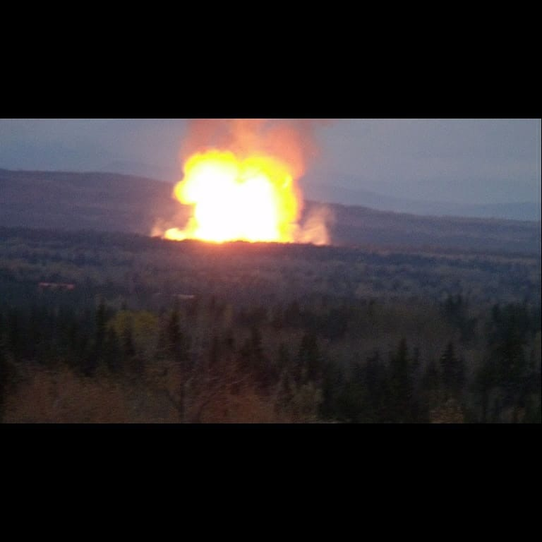 Pipeline explodes near Prince George, B.C.: RCMP