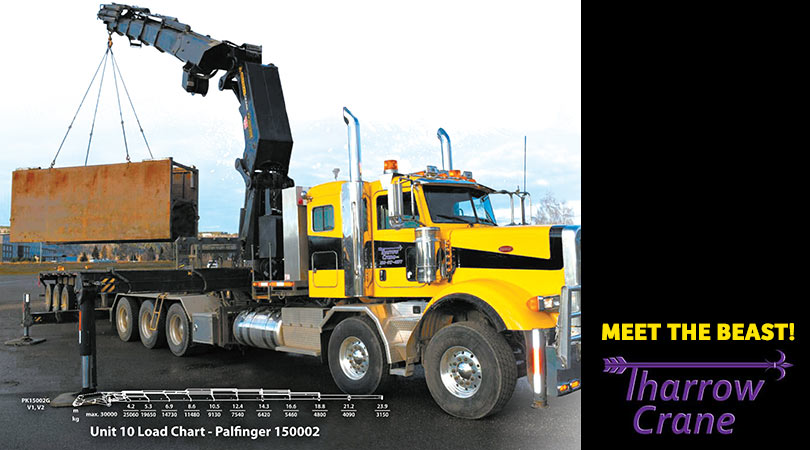 The Beast Has Arrived!- Tharrow Crane Now has the Largest