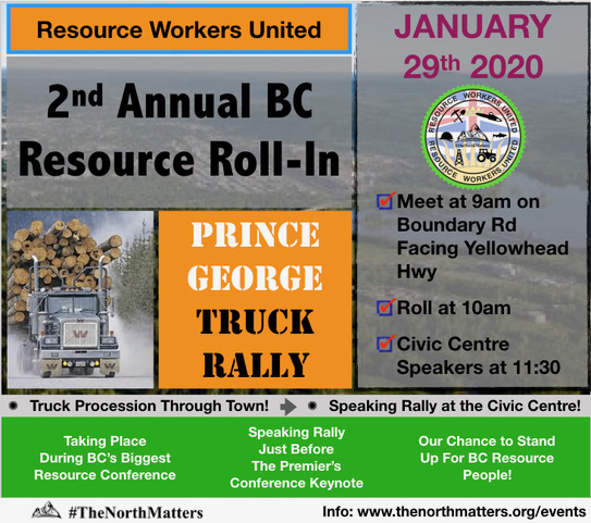 """It's time for us to start speaking up"" : Resource workers rally to come to PG - My Prince George Now"