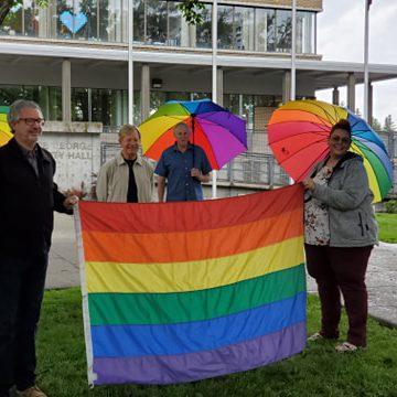 LGBTQ PRIDE LGBT GAY PRIDE CITY HALL