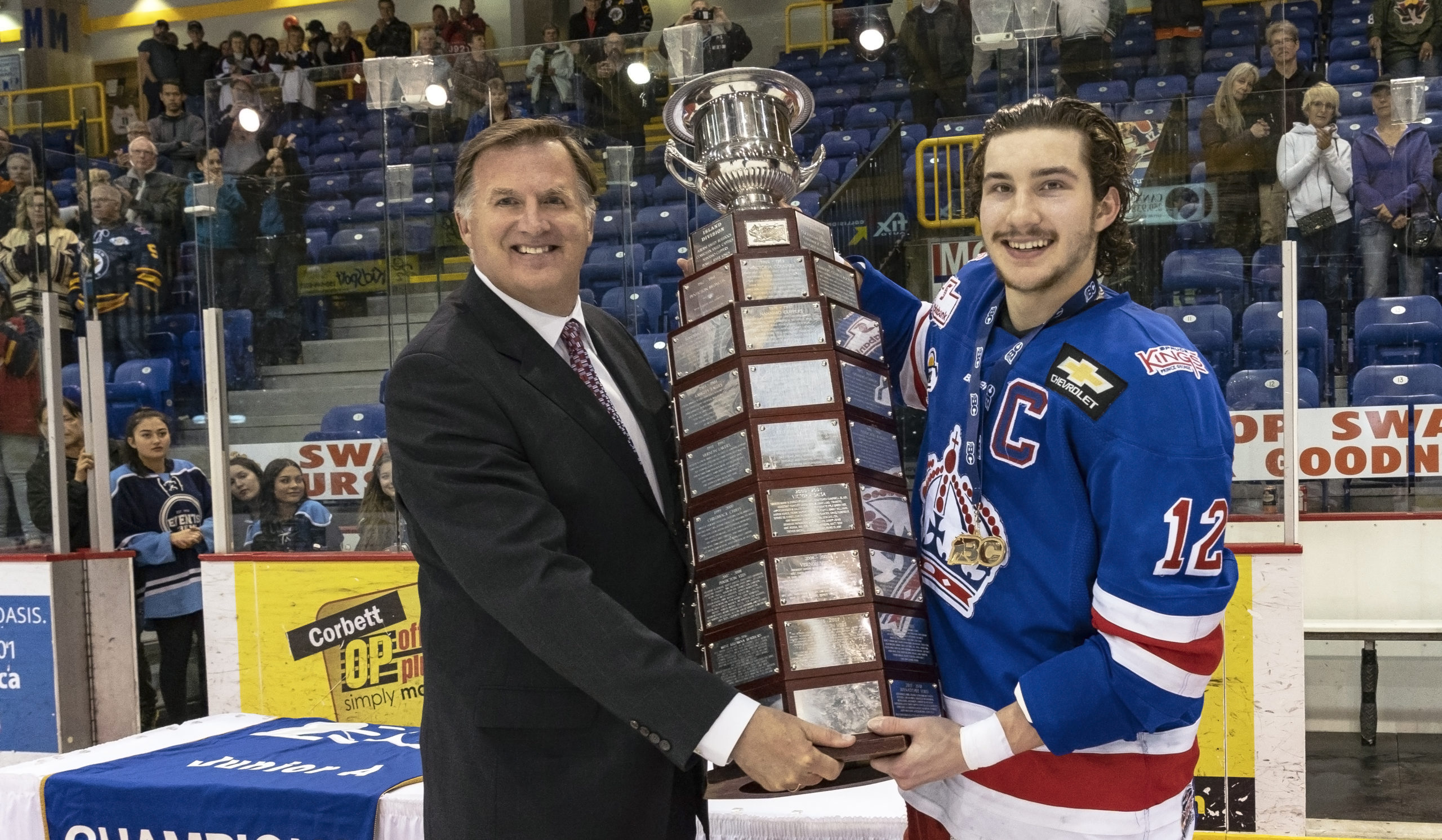 """""""We could start at 25% arena capacity,"""" : BCHL Commissioner Chris Hebb on upcoming season"""